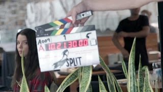 SPLIT Behind The Scenes Footage & Movie Clips