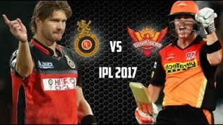 IPL Match 1 Summary | Sunrisers Hyderabad vs Royal Challengers Bangalore 5 April 2017