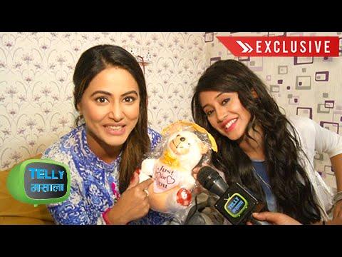 Watch: Heena Khan And Shivangi Joshi's Off Screen Bond | Yeh Rishta Kya Kehlata Hai | Star Plus