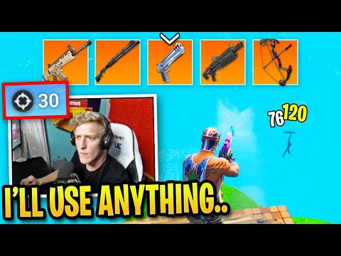 Tfue Shows His Skills with Every Weapon in Fortnite