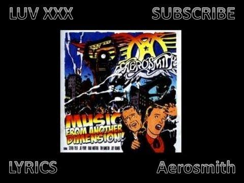 Aerosmith MFAD - Luv XXX - Lyrics
