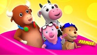 Ringa Ringa Roses | Kindergarten Videos For Children | Nursery Rhymes For Kids By Farmees