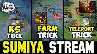 Let SUMIYA teaches you some Tricks   Sumiya Invoker Stream Moment #426