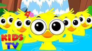 finger family ducks | nursery rhymes for children | kids songs
