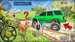 Offroad Jeep Prado Driving - Truck Driver Sim - Fun Animals! - Android gameplay
