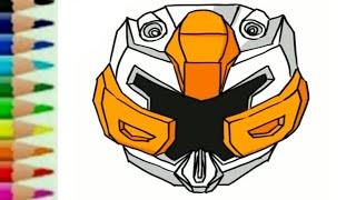 Belajar menggambar tobot x carbot - Kartun robot transformers untuk anak - 또봇 toys