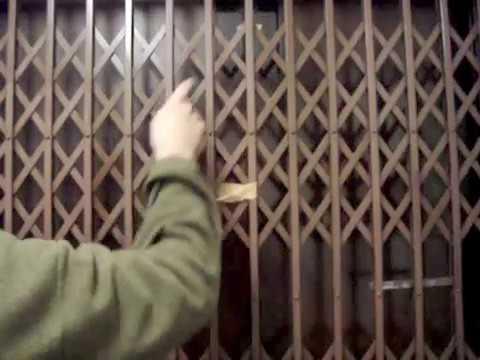 Awesome Antique Otis traction Elevator