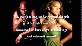 Rihanna ft Tupac - Unfaithful [Remix]