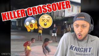 HES THE BABY KYRIE IRVING! KALYE IRVING 1V1 FILIPINO KIDS STREETBALL REACTION