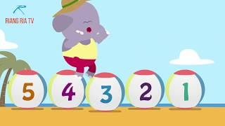 Lagu Kanak-kanak - Nombor-nombor I Mengenal Nombor 1-10 I Numbers in Bahasa Malaysia