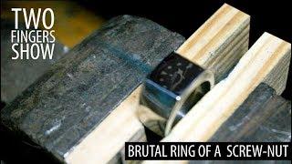Brutal ring of a screw-nut