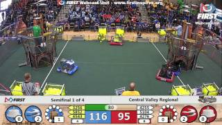 Semifinal 1 - 2017 Central Valley Regional