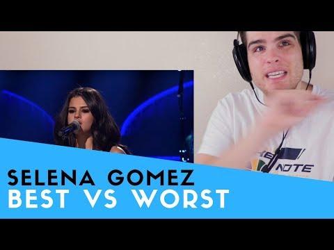 Voice Teacher Reacts to SELENA GOMEZ | BEST VS WORST VOCALS