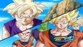 Gohan Goes Super Saiyan 2, Japanese to Z to Kai Comparison.