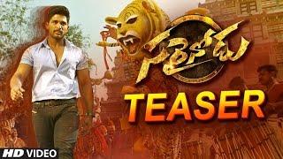 Sarrainodu Teaser || Allu Arjun, Rakul Preet || Boyapati Sreenu || Telugu Latest Movies 2016