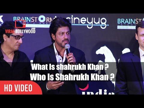 Woh Is Shahrukh Khan ?   Best Speech   Indian Academy Awards 2017