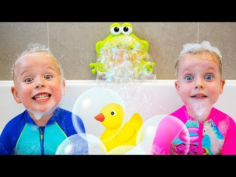 Xxx Mp4 Bath Song More Nursery Rhymes Kids Songs By Gaby And Alex 3gp Sex