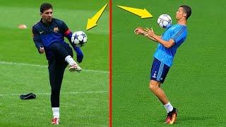Lionel Messi vs Cristiano Ronaldo ● Lujos en Entrenamientos
