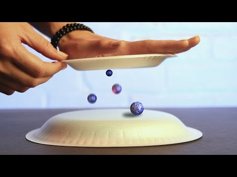 9 Awesome Science Tricks Using Static Electricity
