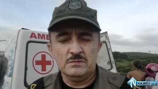 Acidente com ônibus da empresa Guanabara deixa duas pessoas mortas e vários feridos