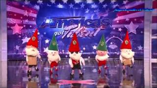 Those Funny Little People - America's Got Talent - Auditions