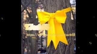 Tony Orlando and Dawn - tie a yellow ribbon (Lyrics)