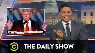 "Obama Says Goodbye & Trump (Allegedly) Gets a ""Golden Shower"": The Daily Show"