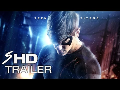 TEEN TITANS 2017 Theatrical Movie Trailer HOLLAND RODEN RAY FISHER Fan Made