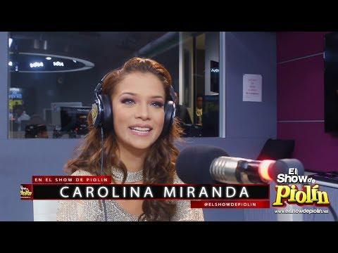 Carolina Miranda en El Show de Piolin