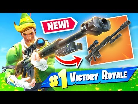 NEW HEAVY SNIPER RIFLE Gameplay In Fortnite Battle Royale