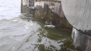 Fort Gibson Dam releasing 108k CFS - May 31, 2015