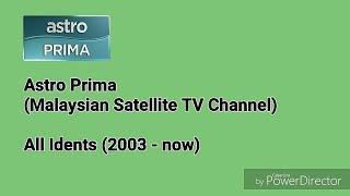 Astro Prima Idents (2003-now)