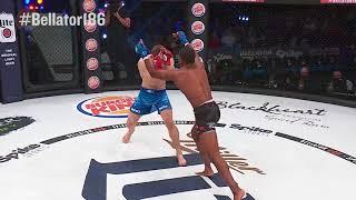 Bellator 186: Tywan Claxton wins by Flying Knee Knockout!