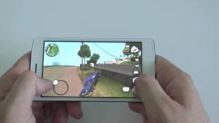 Doogee X5 MAX Gameplay - GTA San Andreas, Modern Combat 5, Asphalt 8