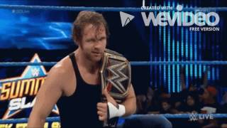 A tribute to Dean Ambrose 2016