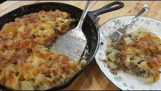 Hamburger Casserole - 100 Year Old Recipe - (Re-Dux) - The Hillbilly Kitchen