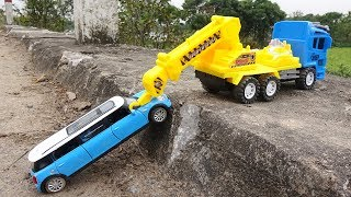 Truck crane rescue S97S - Toys for kids