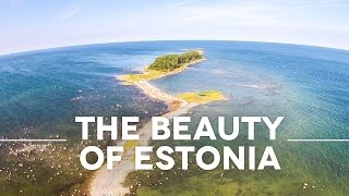 The Beauty Of Estonia – by Drone | Estland Drohnenflug | Estonia Aerial | Drohne Estland
