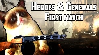 Heroes & Generals - My first match ever [No commentary] 1080p