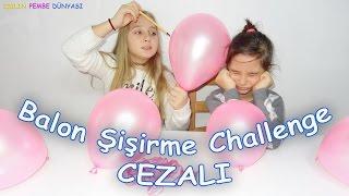 Balon Şişirme Challenge - Kulakta Balon Patlatma Cezalı - Eğlenceli Çocuk Videosu  Funny Kids Videos
