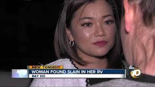 Woman found slain in her Bay Ho RV