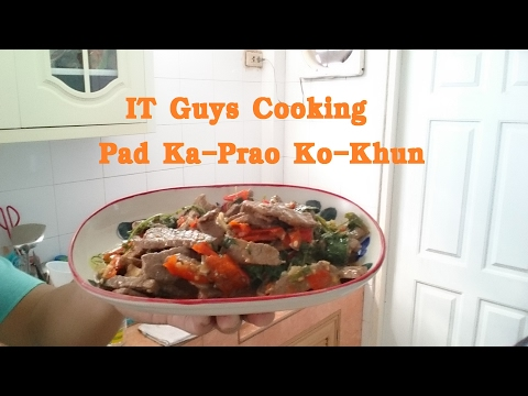 IT Guys Pad Ka Prao Ko Khun