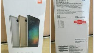 Xiaomi Redmi Note 3 - Customer review (India) 2GB/16GB Gray