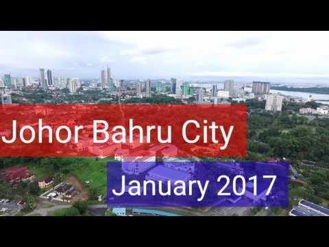 Johor Bahru City Iskandar Malaysia - January 2017