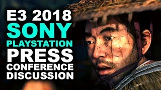 Sony Playstation E3 2018 Press Conference Discussion | GHOST OF TSUSHIMA! - Khan