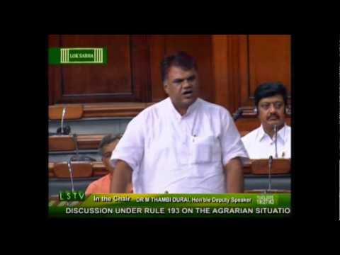 Discussion under rule 193 on the Agrarian situation in the country: Shri Devji Patel: 19.03.2015