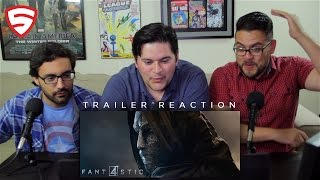 Fantastic Four Official Trailer Reaction!