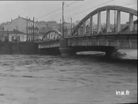 Inondations en Algérie avril 1954 oued el harrach el hayadjane