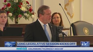 Legislature kicks off new session