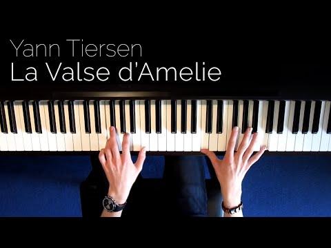 Yann Tiersen La Valse d Amelie Piano HD